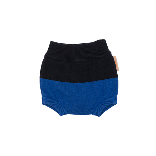 color block baby bloomer [Dark Navy/Blue]