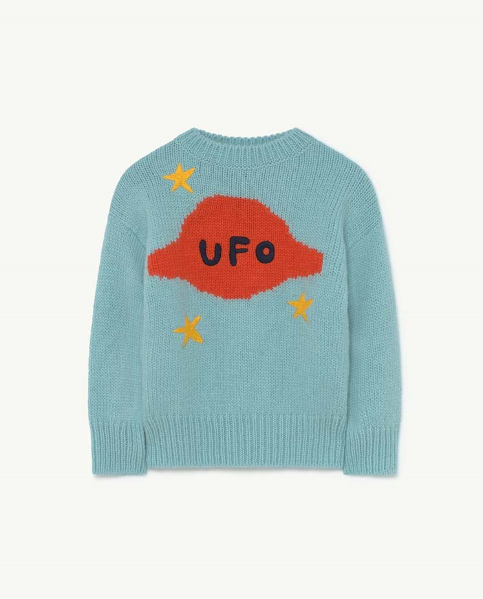 SPACE BULL KIDS SWEATER