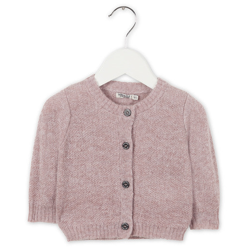 Cardigan Long Sleeve [Misty Pink]