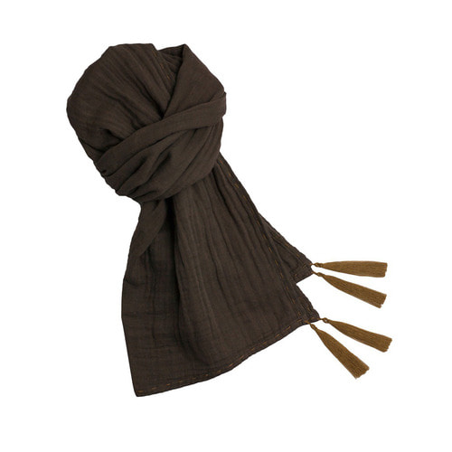 Kid Scarf [Taupe]