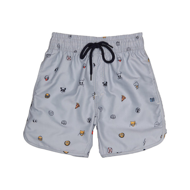 Oliver Swim Pants [Alloy/AOP Emojo Swim]