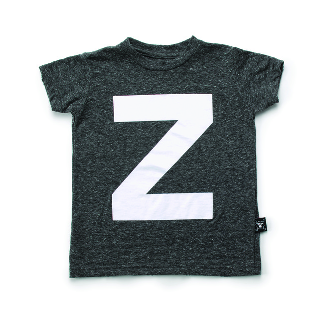 """Z"" T-SHIRT S [CHARCOAL]"