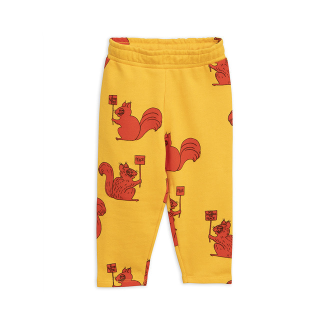 SQUIRREL SWEATPANTS [YELLOW]