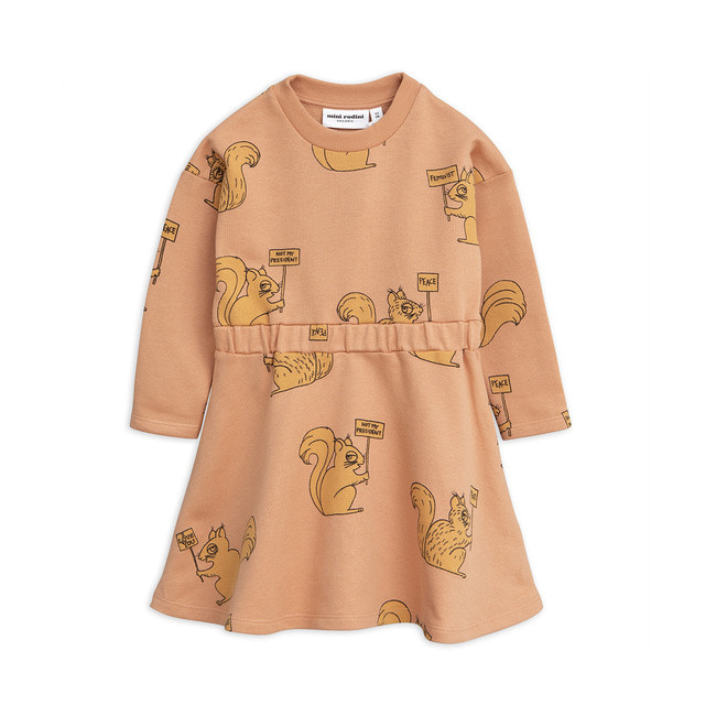 SQUIRREL DRESS [BEIGE]