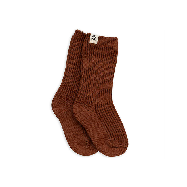 WOOL SOCK [BROWN]