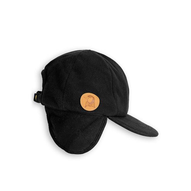 FLEECE CAP [BLACK]
