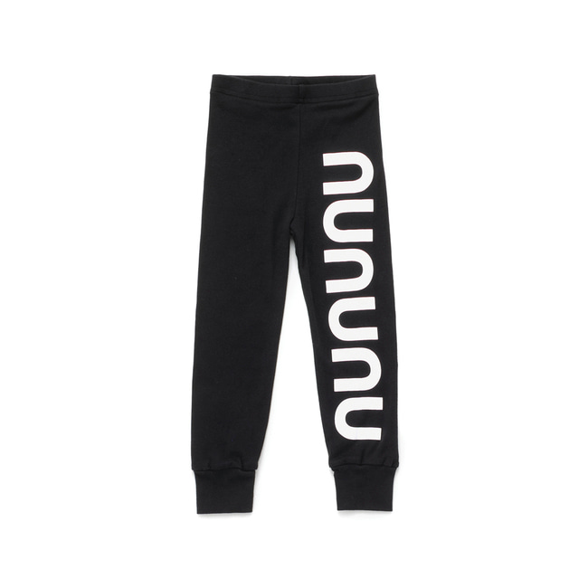 NUNUNU LEGGINGS S [Black]