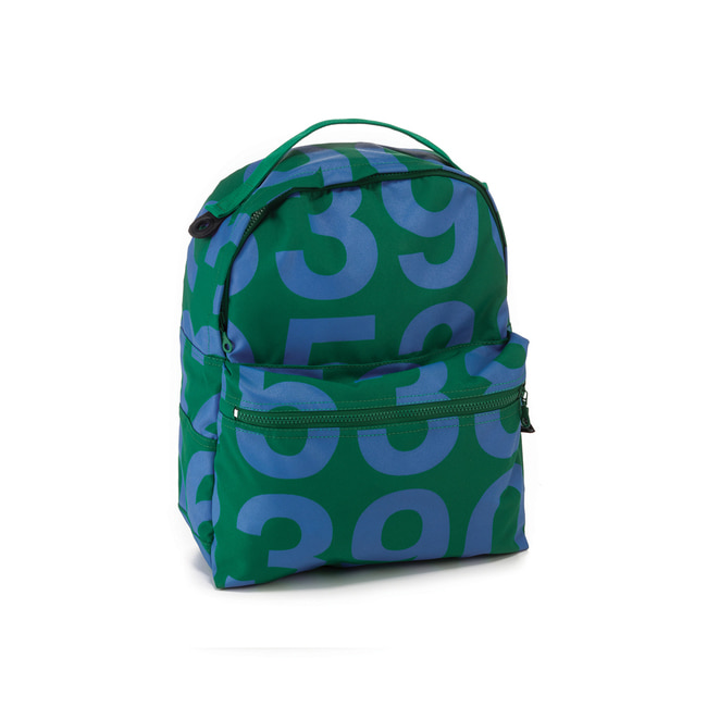 NUMBERED BACKPACK[GREEN]
