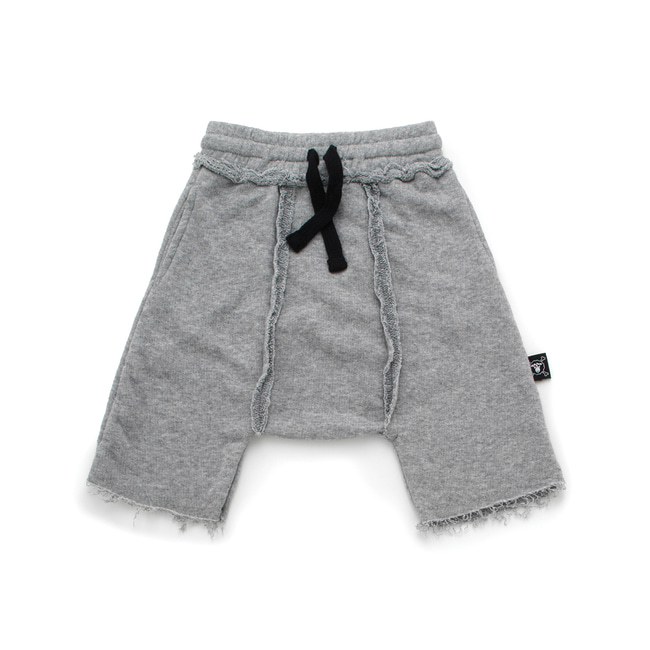 HAREM SWEATSHORTS L [Heather Grey]