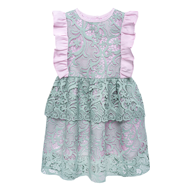 Lace Queen Dress Margarite