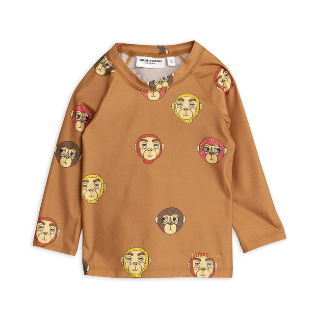 Monkey UV top-Brown