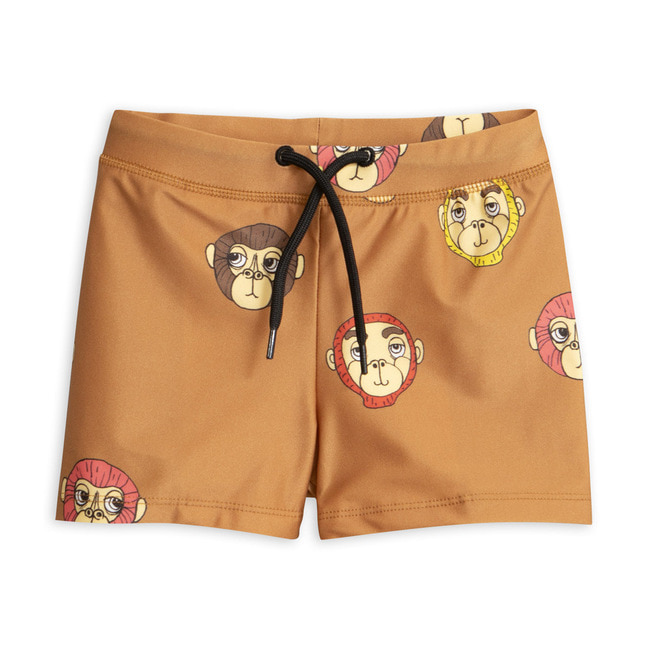 Monkey swimpants-Brown