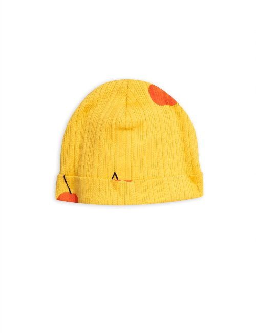 Cherry baby beanie (YelloW)