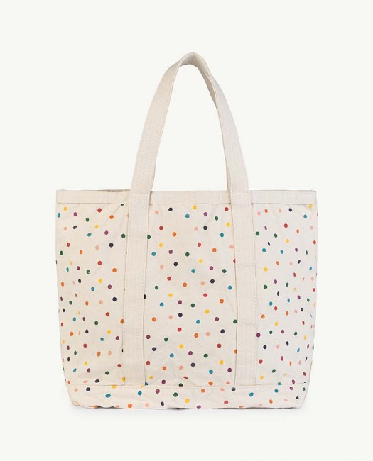 STRAPS CANVAS TOTEBAG
