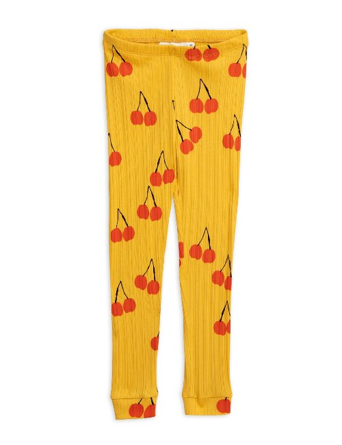Cherry leggings (Yellow)