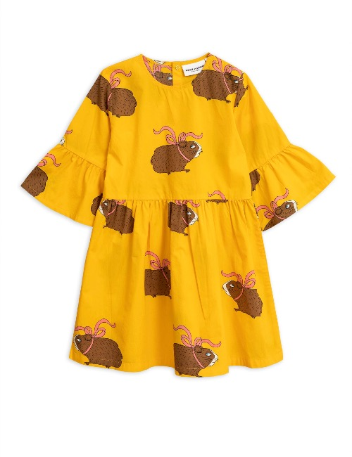 Posh guinea pig dress(Yellow)