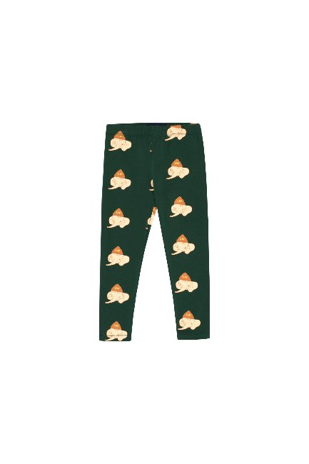 LUCKYPHANT PANT(bottle green/light cream )