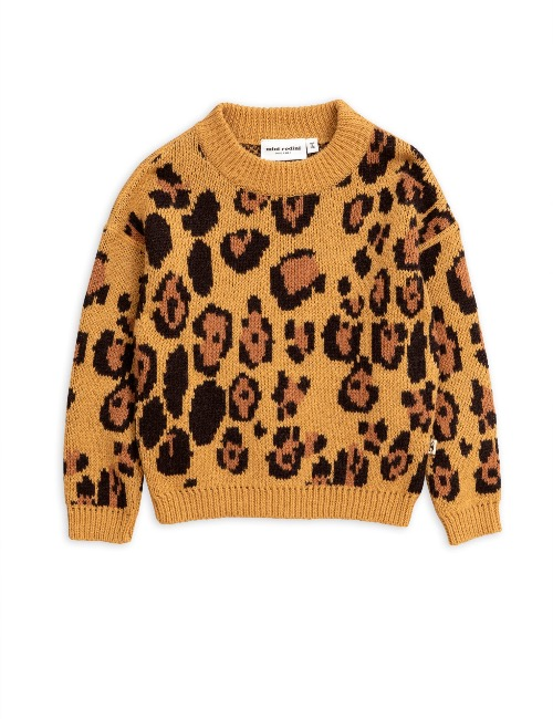 Leo knitted sweater (Brown)