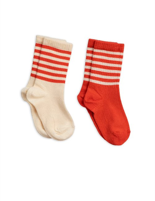 2-pack socks(Red)