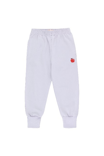 APPLE SWEATPANT(light lilac/burgundy)