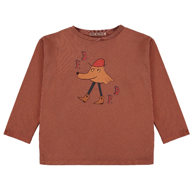 T-SHIRT /Raw Sienna