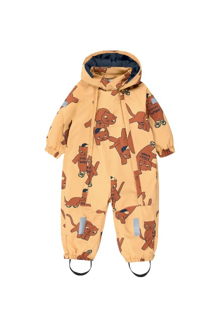 CATS SNOW ONE-PIECE(sand/brown)