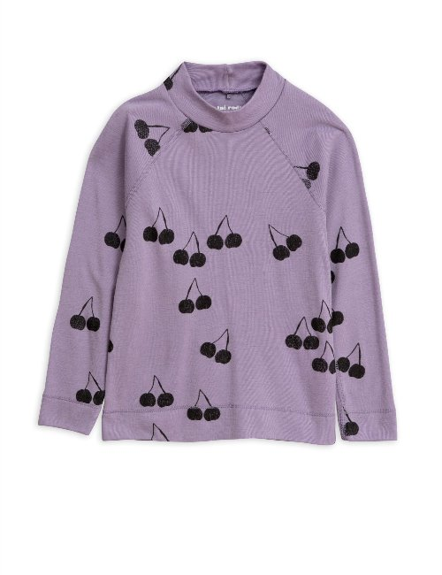 Cherry wool ls tee(Purple)