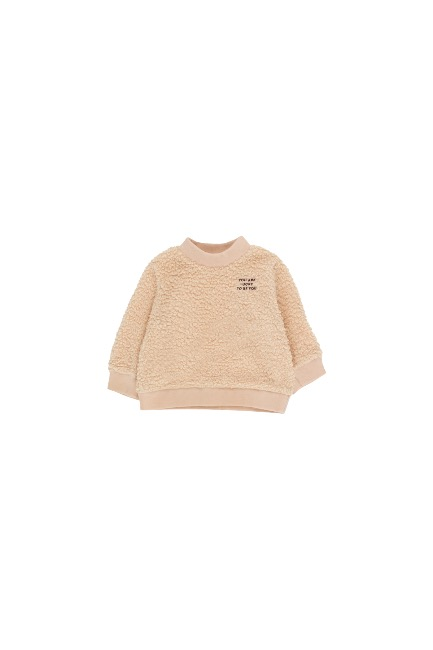 YOU ARE LUCKY SWEATSHIRT(sand/aubergine)