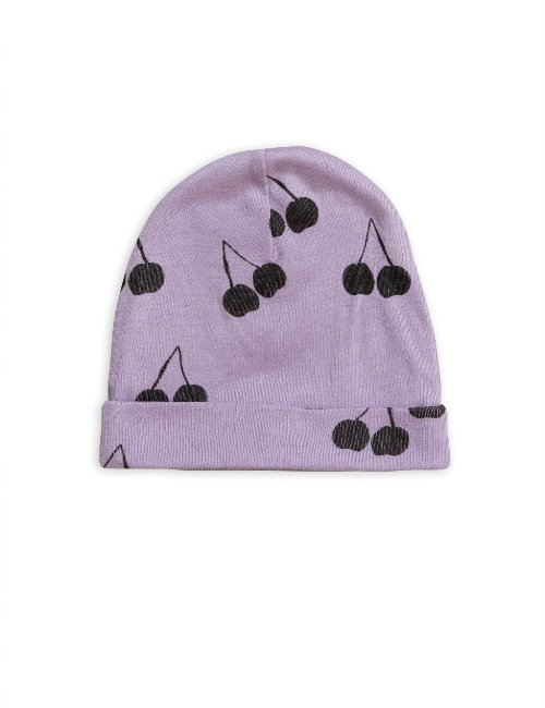 Cherry wool beanie(Purple)