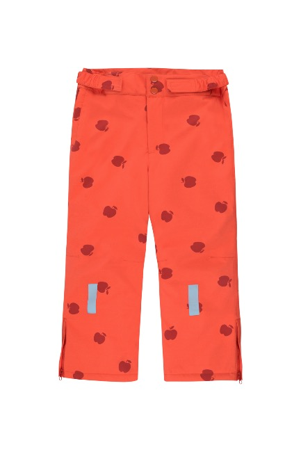 APPLES SNOW PANT /red/burgundy