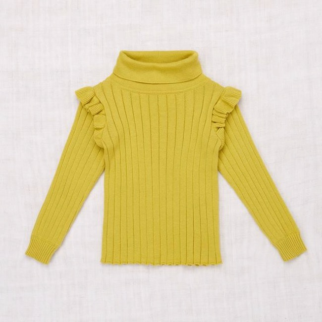 Ida Turtleneck/Dijon