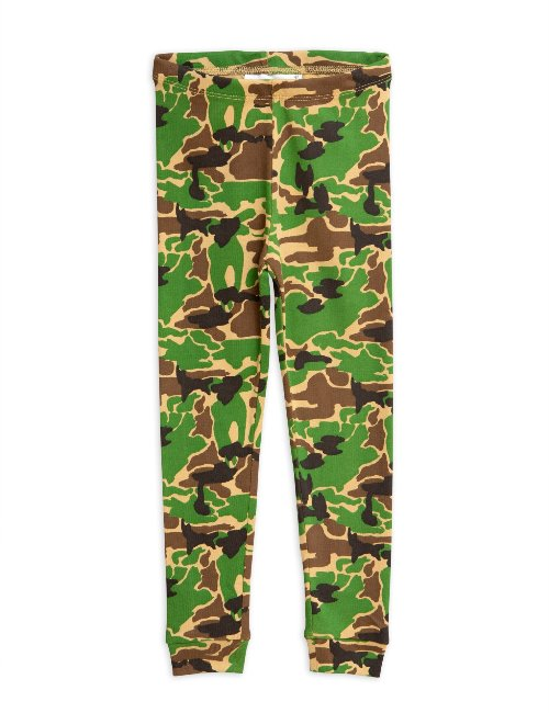Camo leggings Green