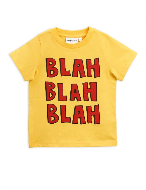 Blah sp ss tee Yellow