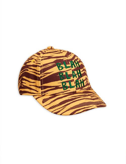 Tiger stripe cap Brown