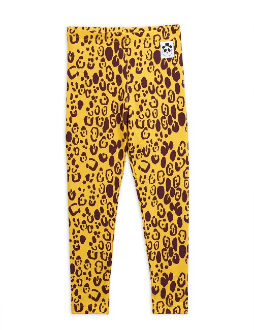 Leopard leggings Yellow