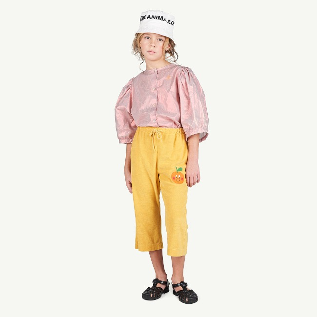 PORCUPINE KIDS PANTS YELLOW FRUIT(EXCLUSIVE)