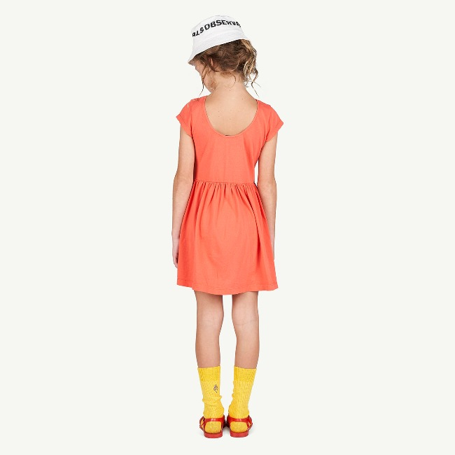 BUTTERFLY KIDS DRESS RED DOG(EXCLUSIVE)