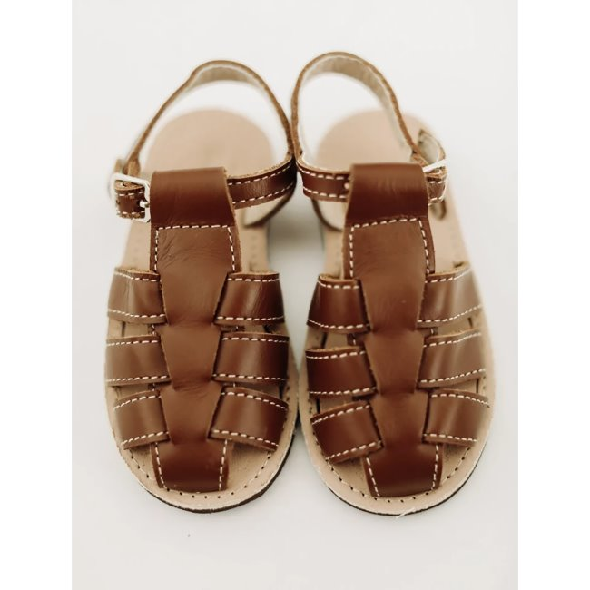 Otto Sandal Brown Leather